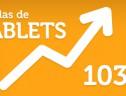 Vendas de tablets crescem 103% em volume no Brasil