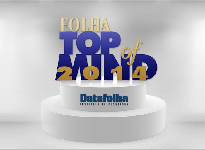 Top of Mind 2014 – Conheça as marcas mais lembradas do Brasil