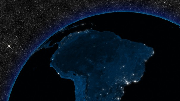 Night in South America