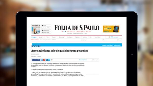 Abep - Folha de S.Paulo