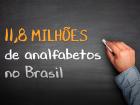 Analfabetismo no Brasil: ainda longe da meta