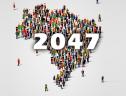 População brasileira deve parar de crescer em 2047